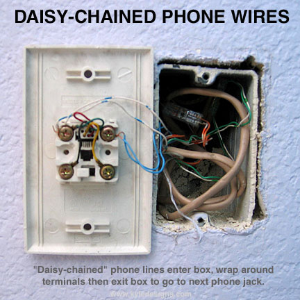 phone jack wiring 6 contacts how hook up    phone    wires  how hook up    phone    wires