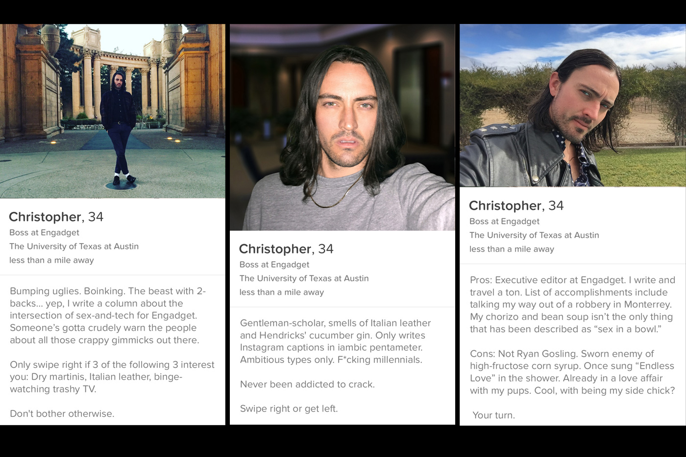 what to include in your online dating profile